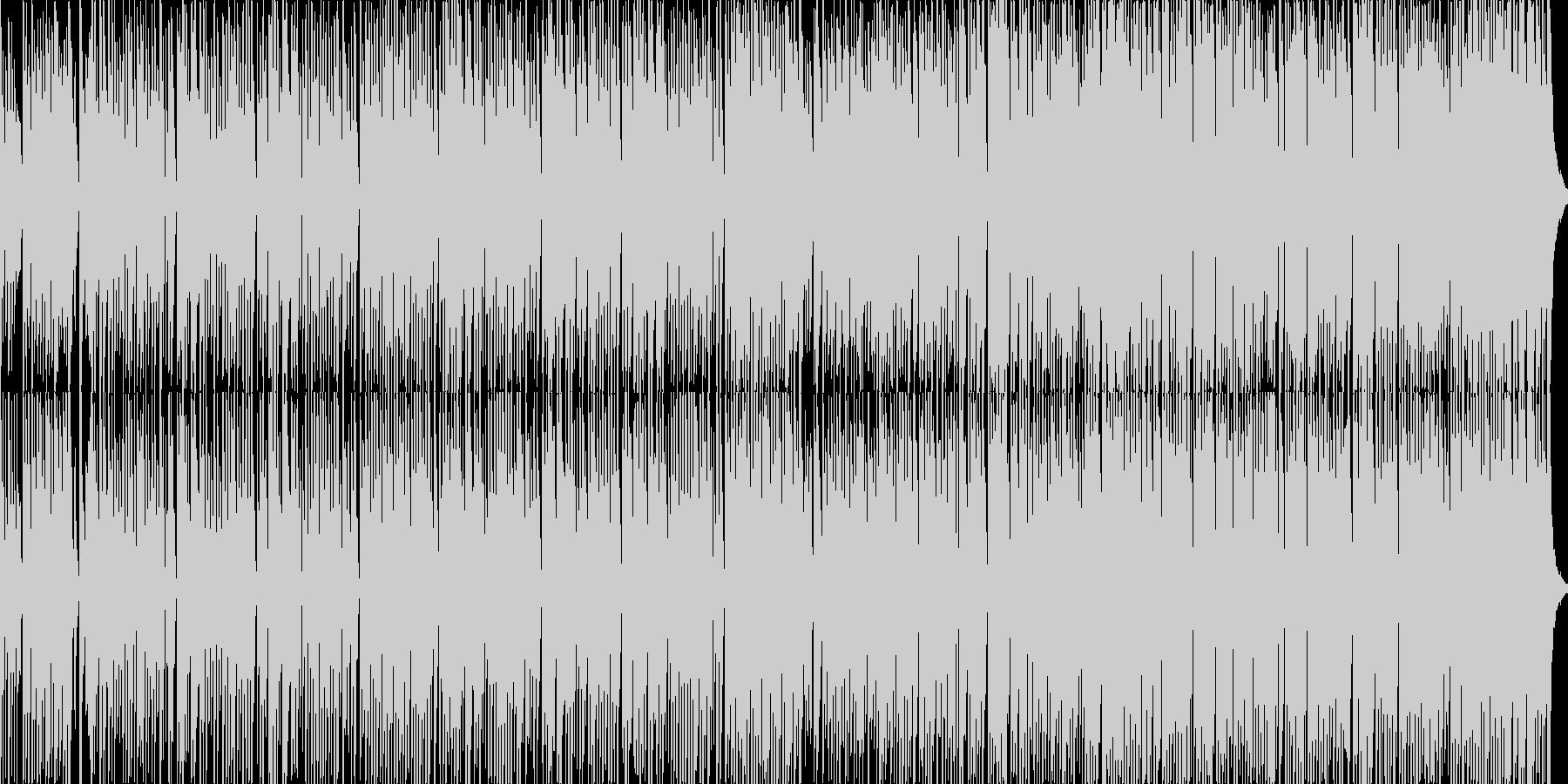 ジ・エンターテイナー/ポップアレンジの未再生の波形