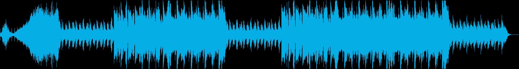 和風なCMに合いそうな癒し系バラードの再生済みの波形