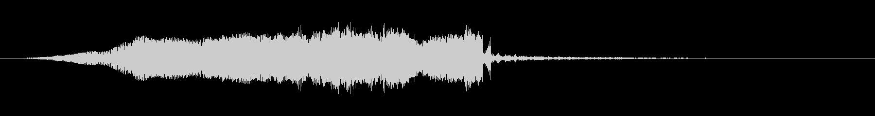 トランジション スイープ 35 の未再生の波形