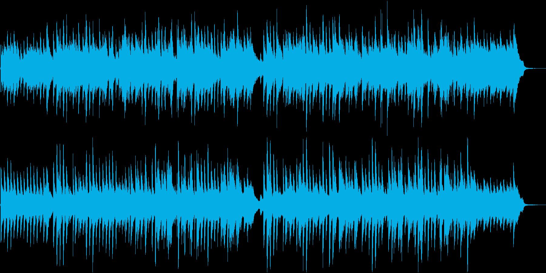 明るくほがらかなピアノポップス/ドラム無の再生済みの波形