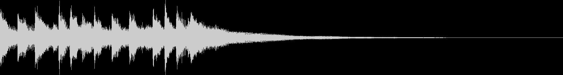キャッチーEDM・ADMジングル3の未再生の波形