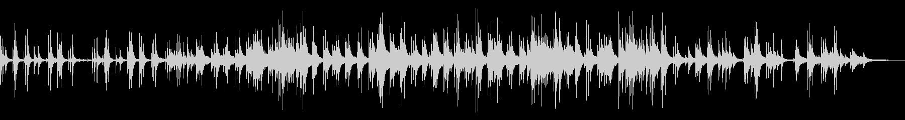 讃美歌・アメイジンググレイス・ピアノソロの未再生の波形