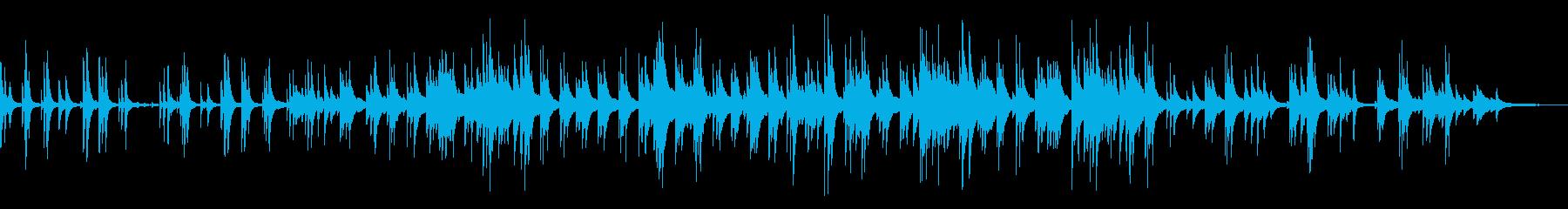 讃美歌・アメイジンググレイス・ピアノソロの再生済みの波形