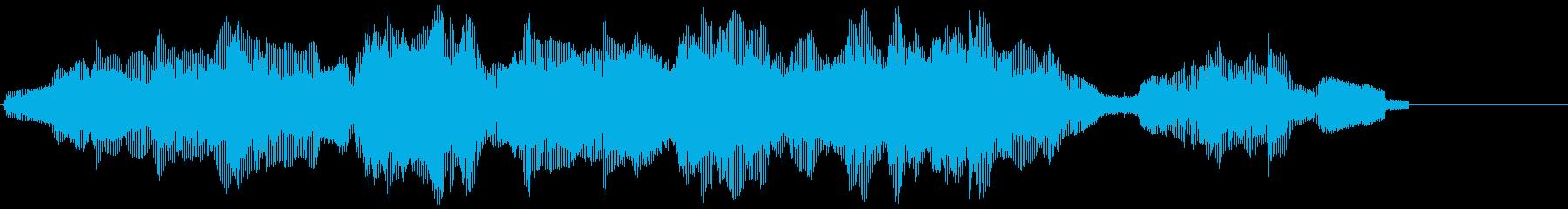 コンピューター口ハープエラーの再生済みの波形