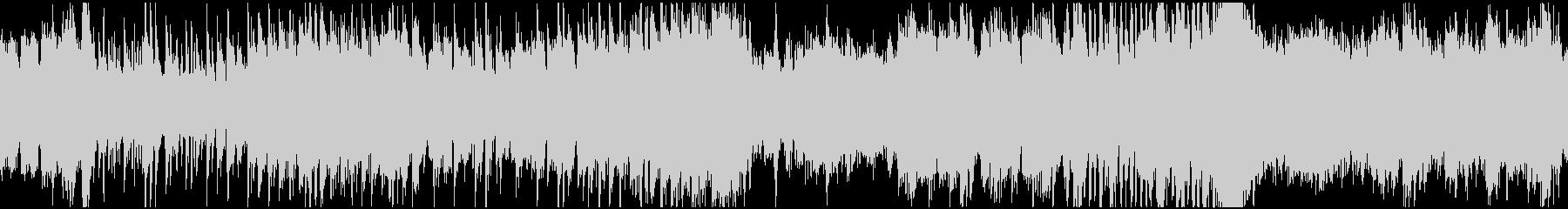 コミカルなハロウィン曲(ループ)の未再生の波形