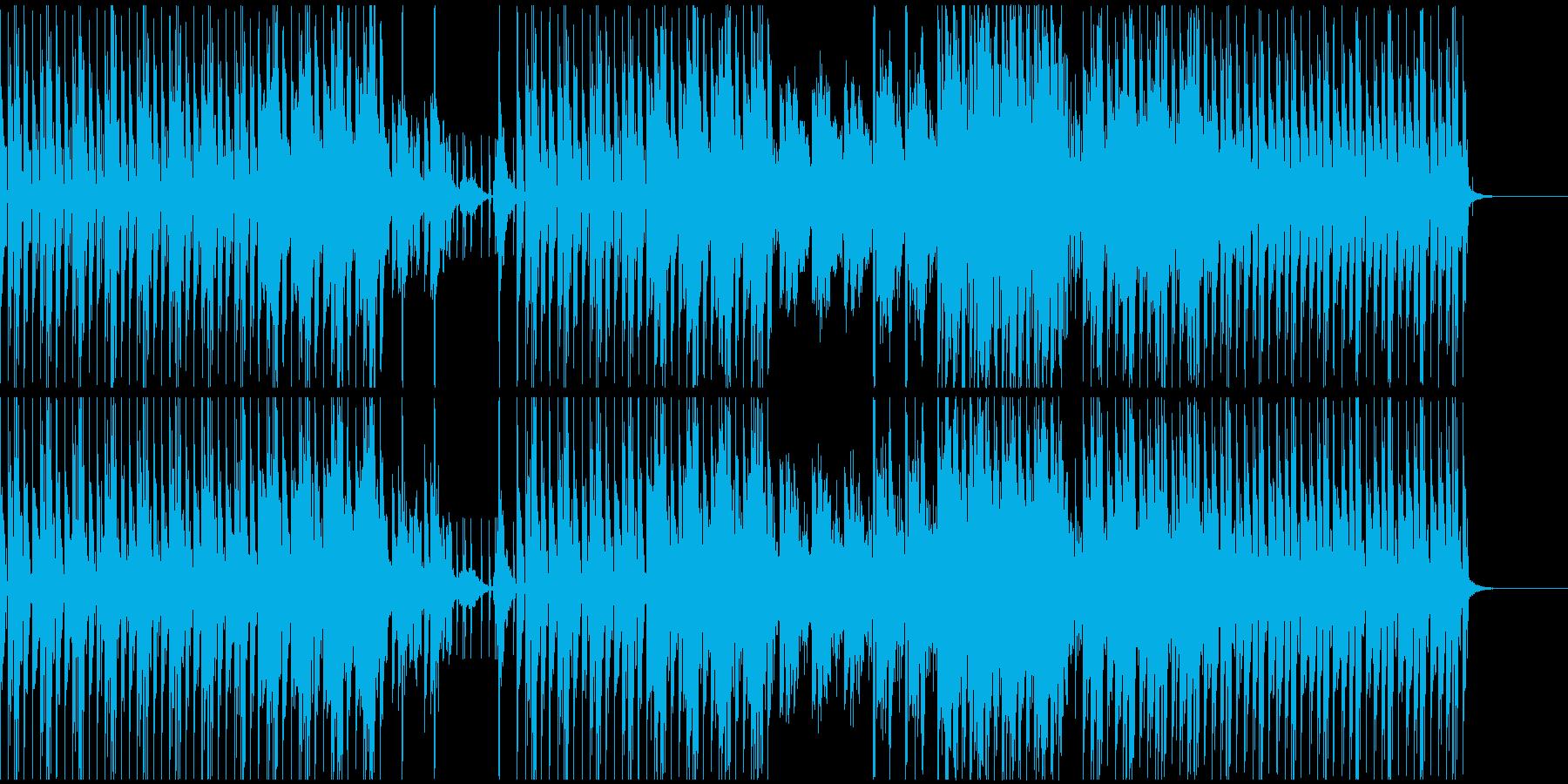 空気感のある癖のないテクノサウンドの再生済みの波形