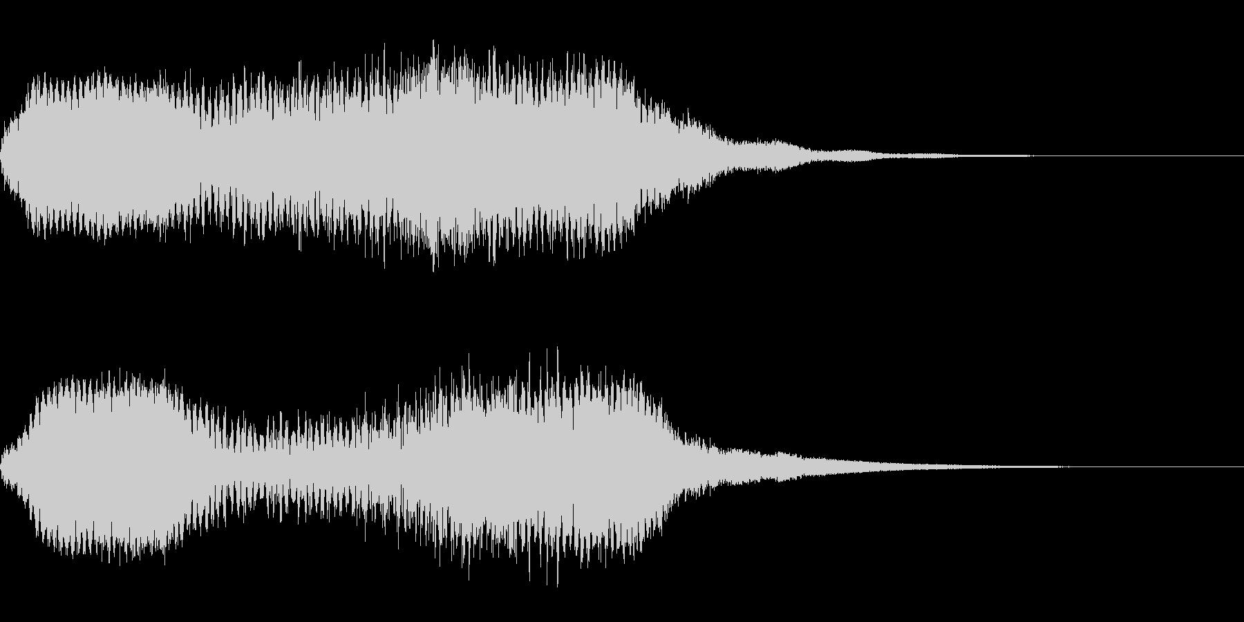 ホラー系導入音_その8の未再生の波形