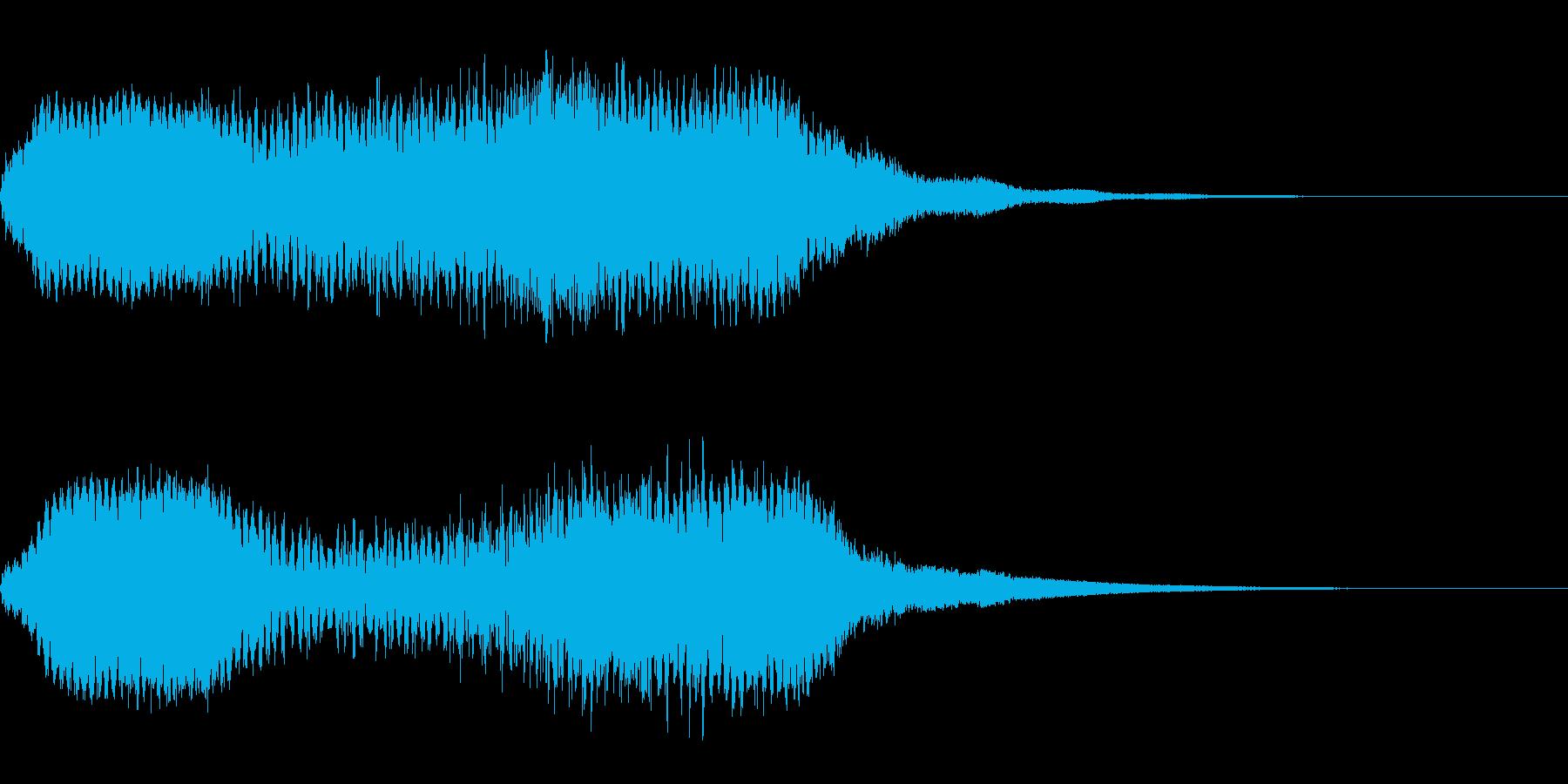 ホラー系導入音_その8の再生済みの波形