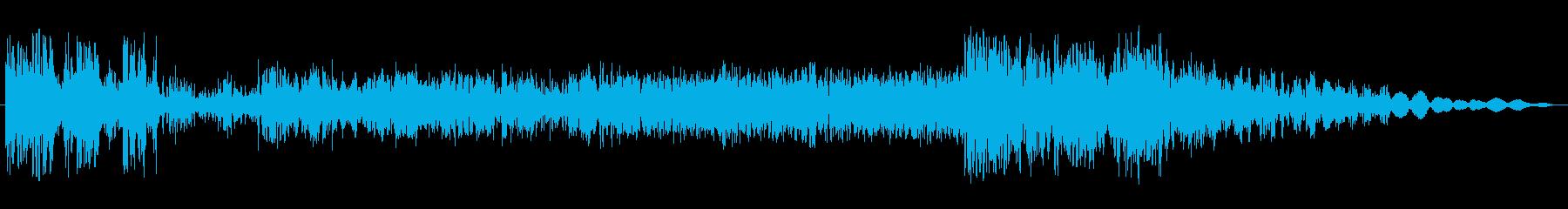 静的干渉スイープ3の再生済みの波形