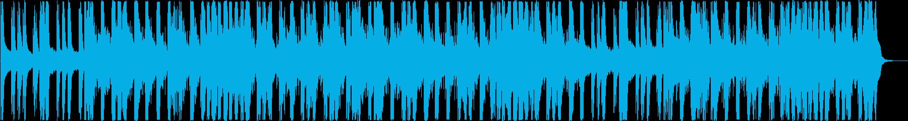 動画 感情的 楽しげ やる気 ad...の再生済みの波形