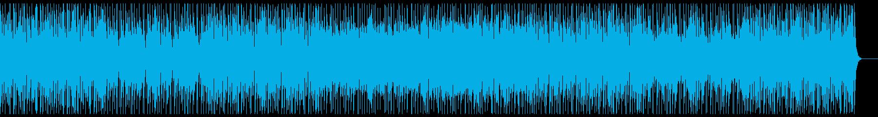 楽しい/トロピカル/夏/明るい南国曲の再生済みの波形