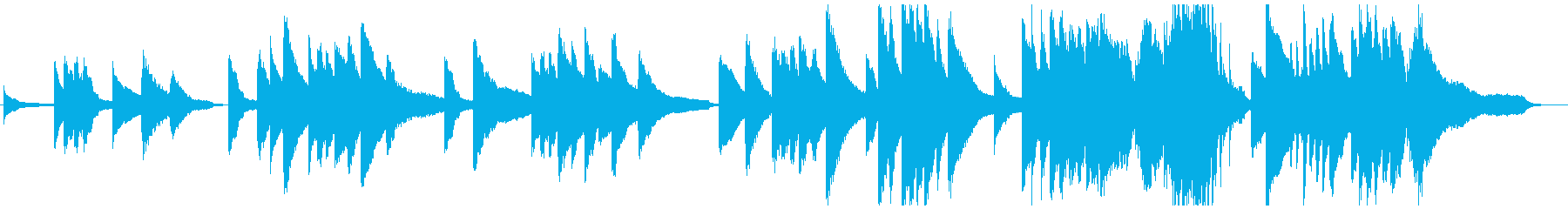 ドビュッシー風 印象派 癒し系ピアノの再生済みの波形