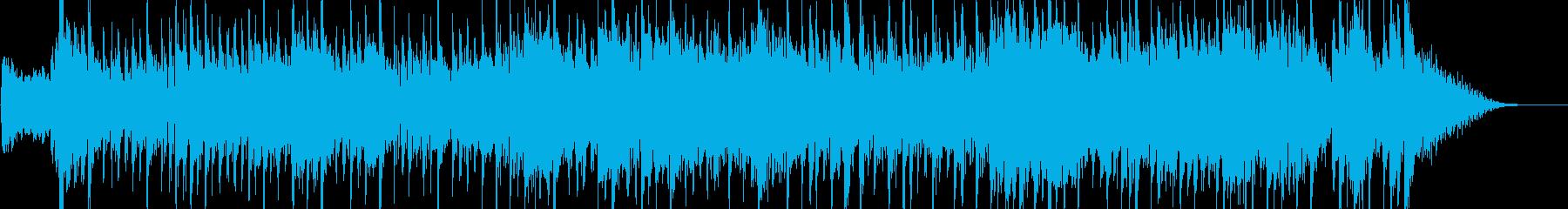 和風なテクノのんの再生済みの波形