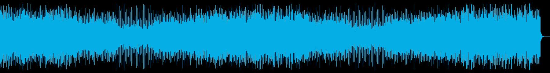 疾走感のあるシンセ曲の再生済みの波形