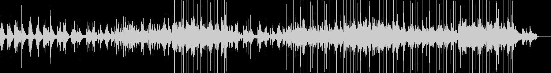 ハープの音色が美しいゆったり落ち着いた曲の未再生の波形