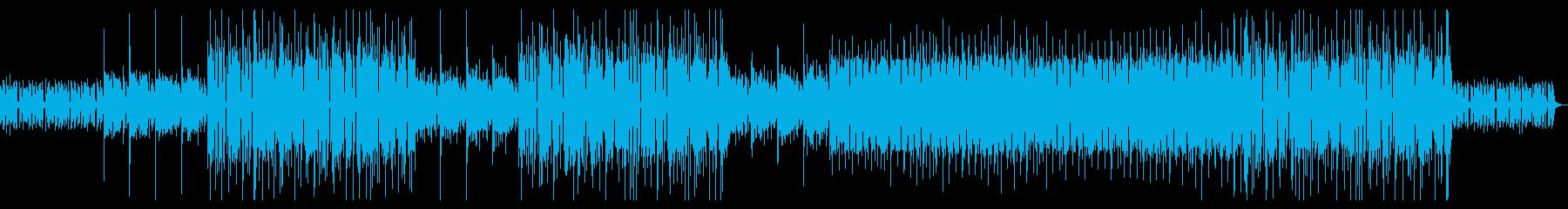 不思議でミニマルなエレクトロニカの再生済みの波形