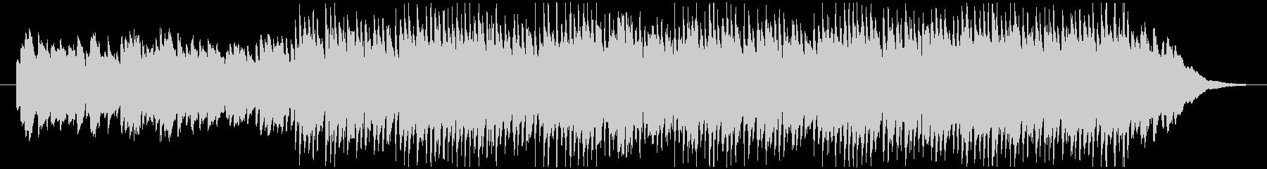 ランダムなピアノフレーズが印象的なBGMの未再生の波形