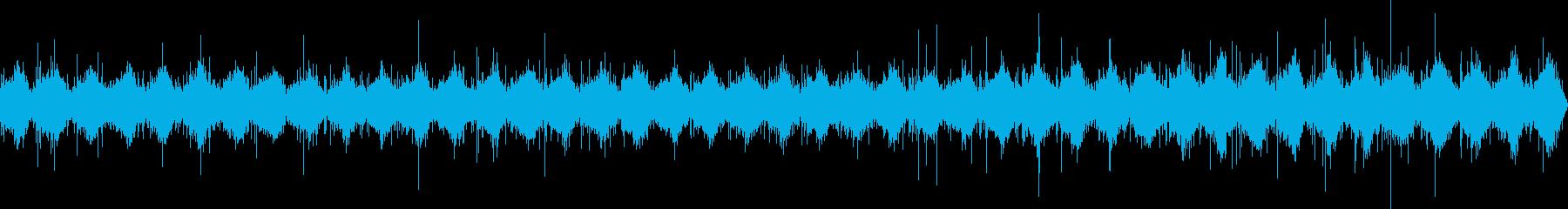 リズミカルな噴水の再生済みの波形