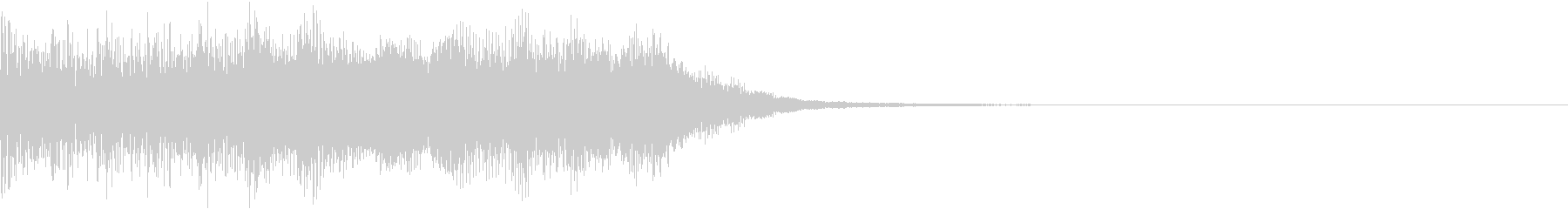 ファミコン風 レトロ ファンファーレ Iの未再生の波形