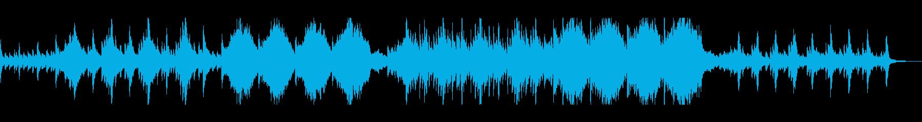 オーケストラ楽器。渦巻く魔法のファ...の再生済みの波形