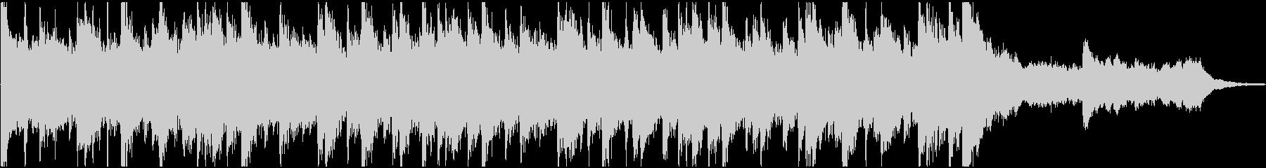 シタールなどインド楽器のサウンドロゴの未再生の波形