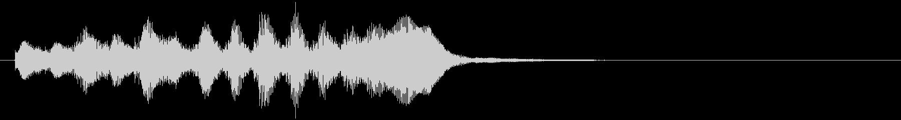 のほほんジングル013_怪しい+3の未再生の波形