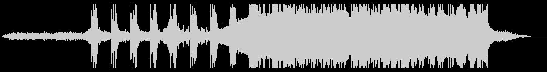 壮大なオーケストラ・映画オープニング系の未再生の波形