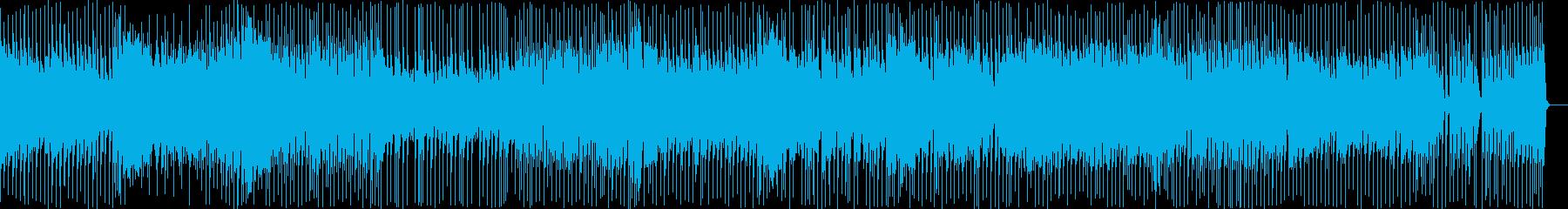 キャラ選択中をイメージしたテクノポップの再生済みの波形