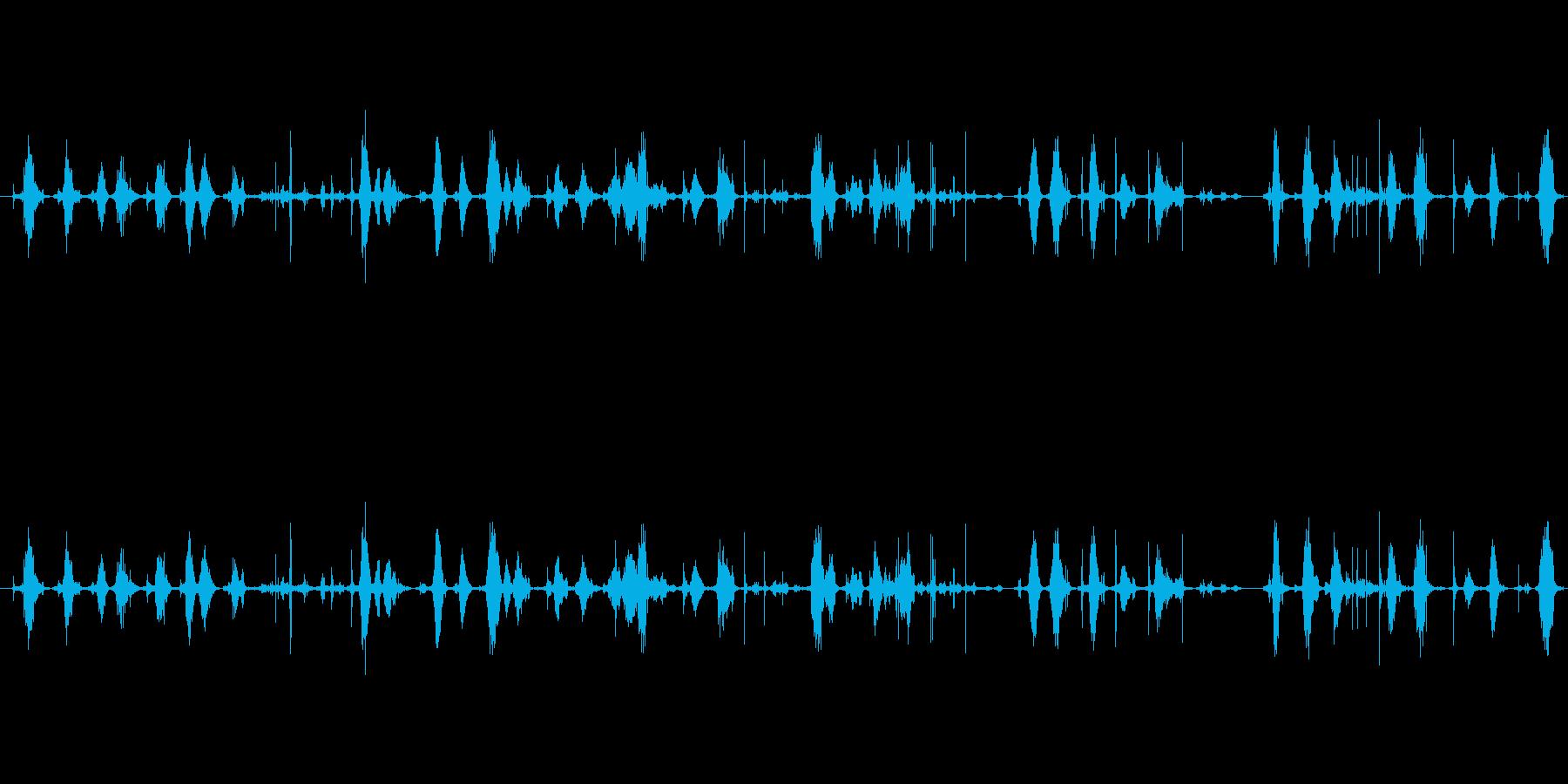 【シャープペン01-02(書く)】の再生済みの波形