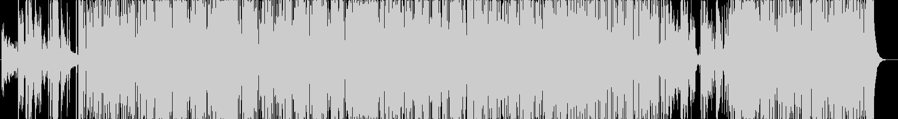 ジャズとファンク。非常に低いグルー...の未再生の波形