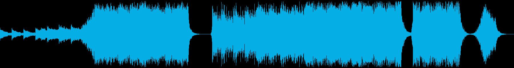 【予告編】トレーラー・ハリウッドの再生済みの波形