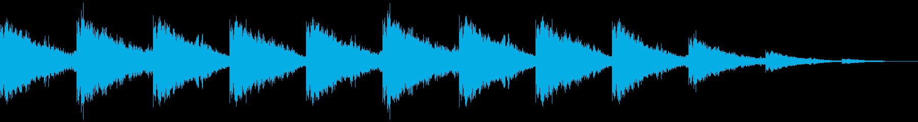 退廃的な街・ポストアポカリプス的BGMの再生済みの波形