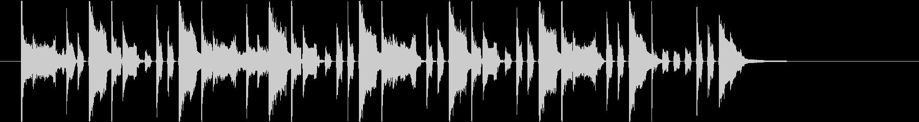 ピコ効果音】プリントアウトの未再生の波形