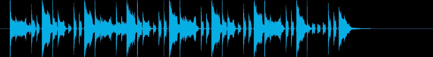 ピコ効果音】プリントアウトの再生済みの波形