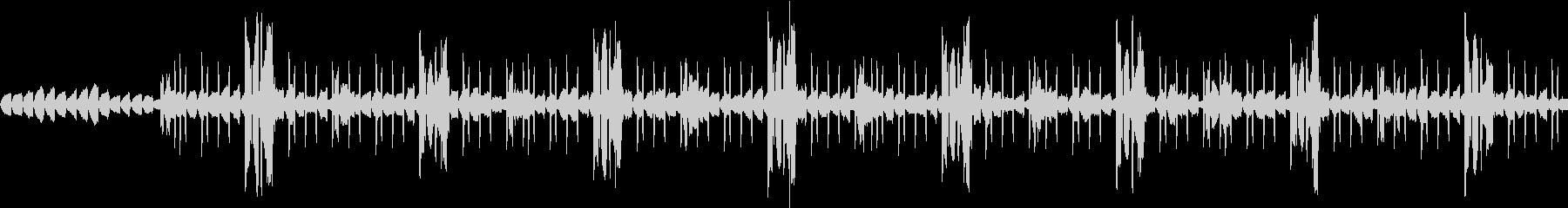 Lofi musicの未再生の波形