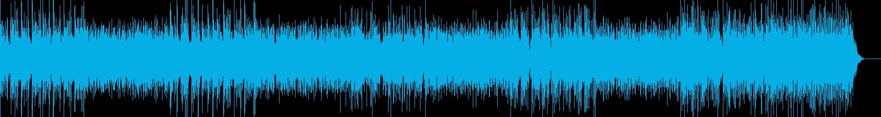 流れるような溝は、機械のような感触...の再生済みの波形
