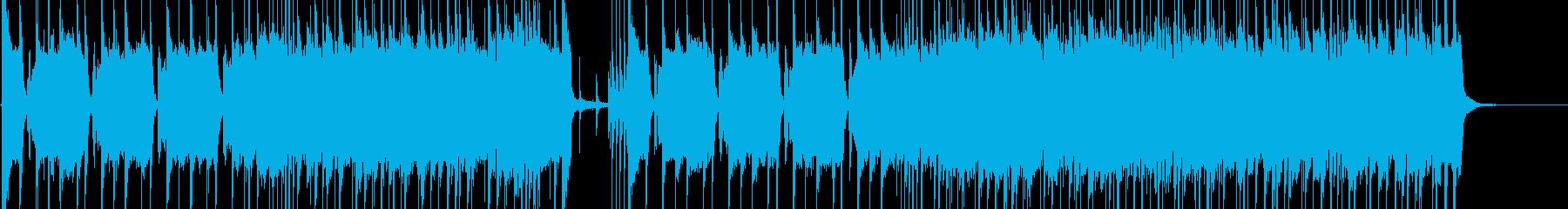 ハードロッキング、ギター駆動のキュ...の再生済みの波形