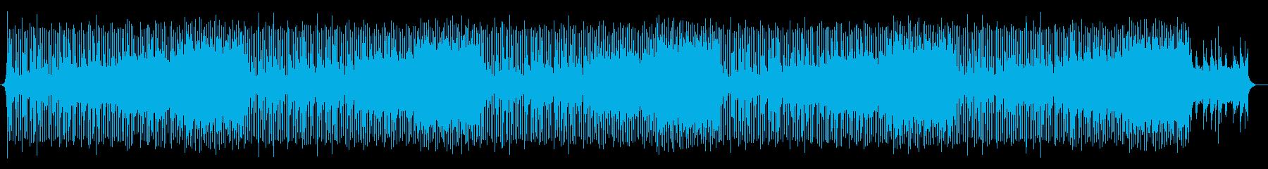 企業VP、ギター、ピアノの再生済みの波形