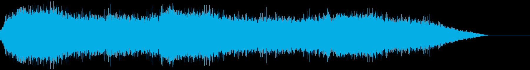 歓声、歓喜の声(大観衆)の再生済みの波形