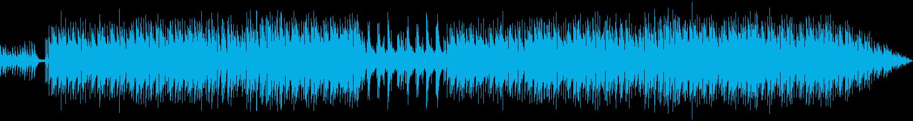 新しい始まりを予感させるインスト曲の再生済みの波形