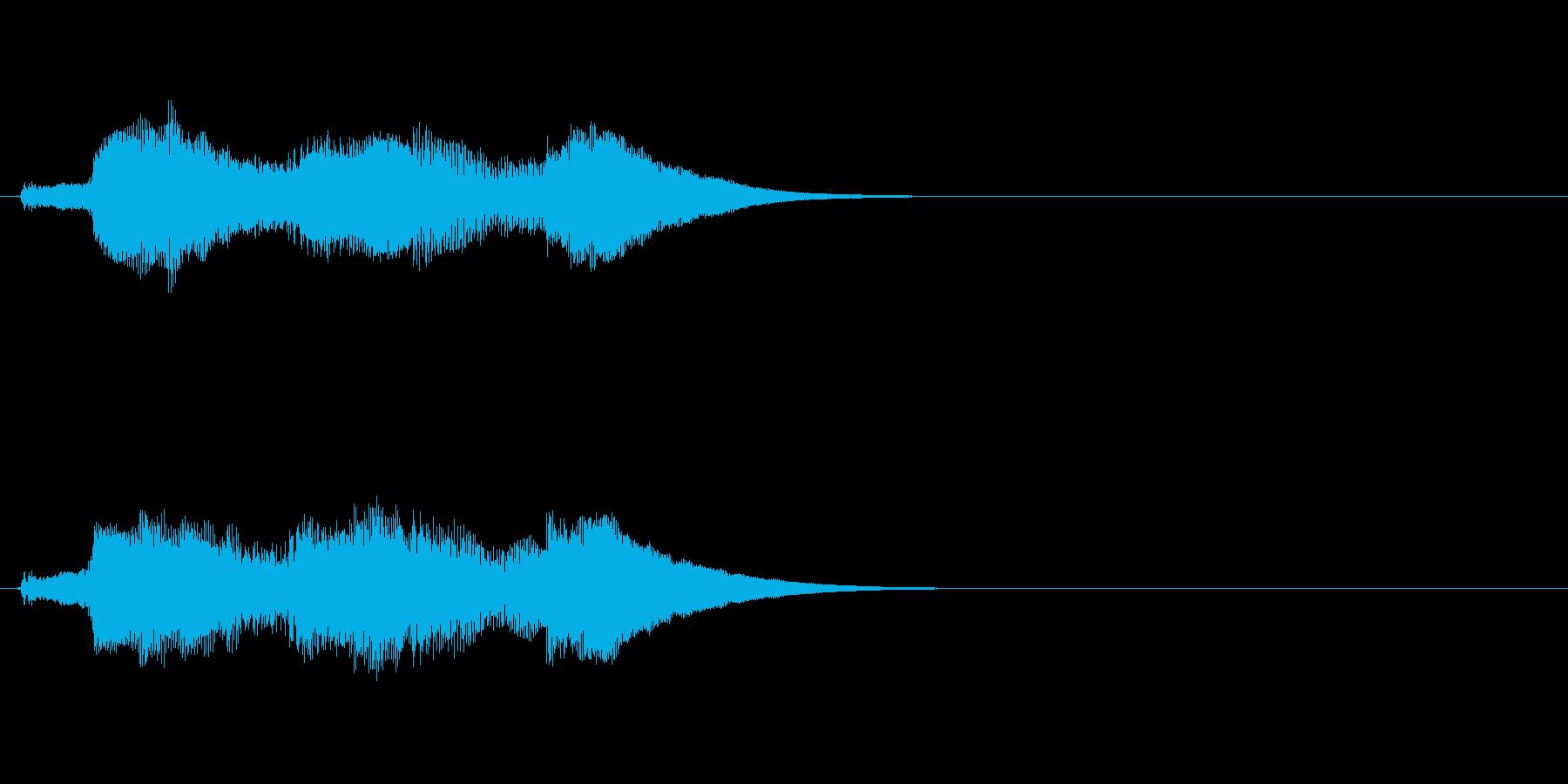 アイテム等の取得時のSEの再生済みの波形