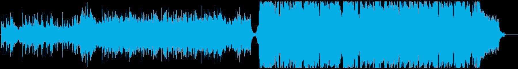 民族調×ウェディングの明るいワルツの再生済みの波形