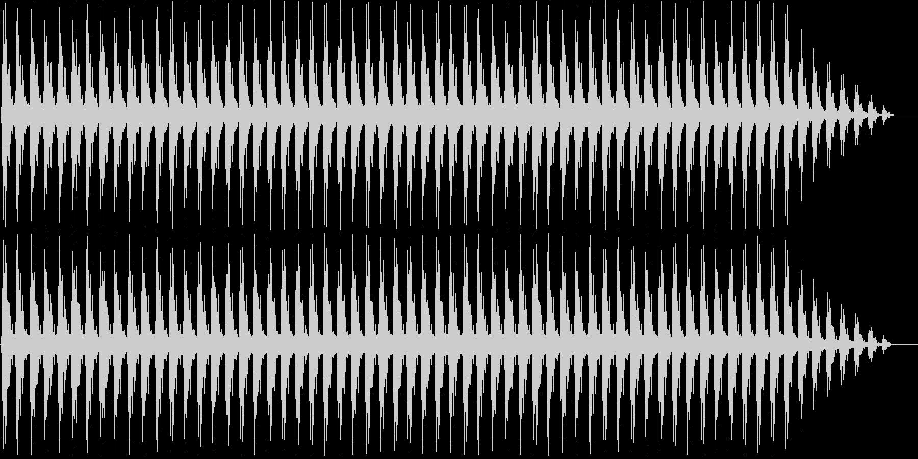 クリスマスの鈴(低め)の未再生の波形