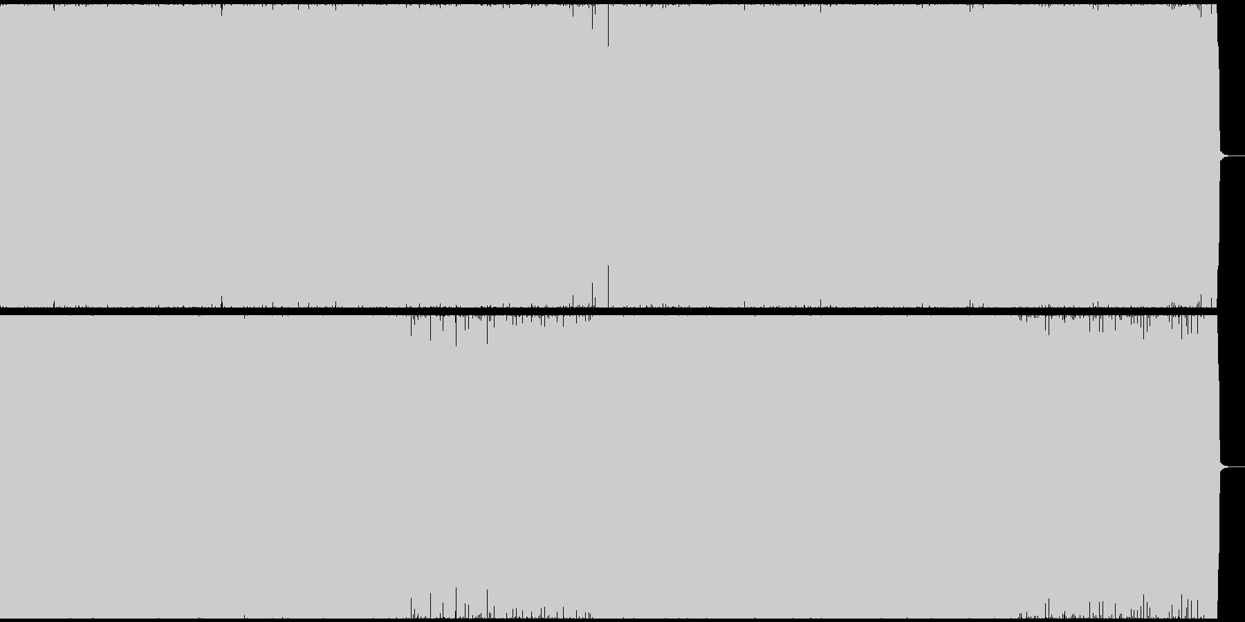 和風なイメージのあるギターロックナンバーの未再生の波形