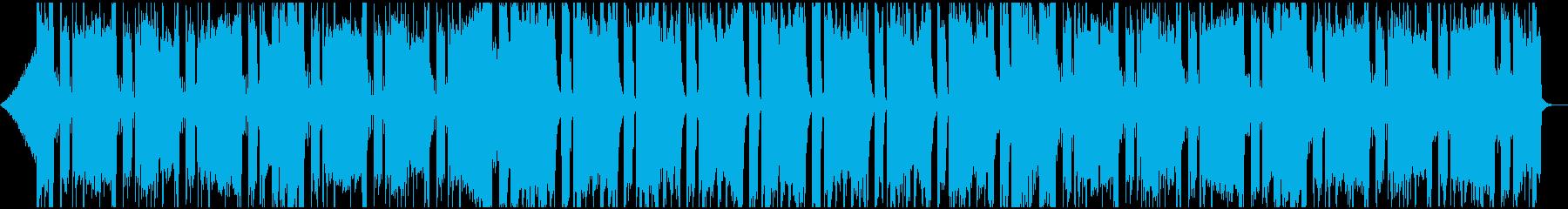 エネルギッシュで壮大なフューチャーベースの再生済みの波形