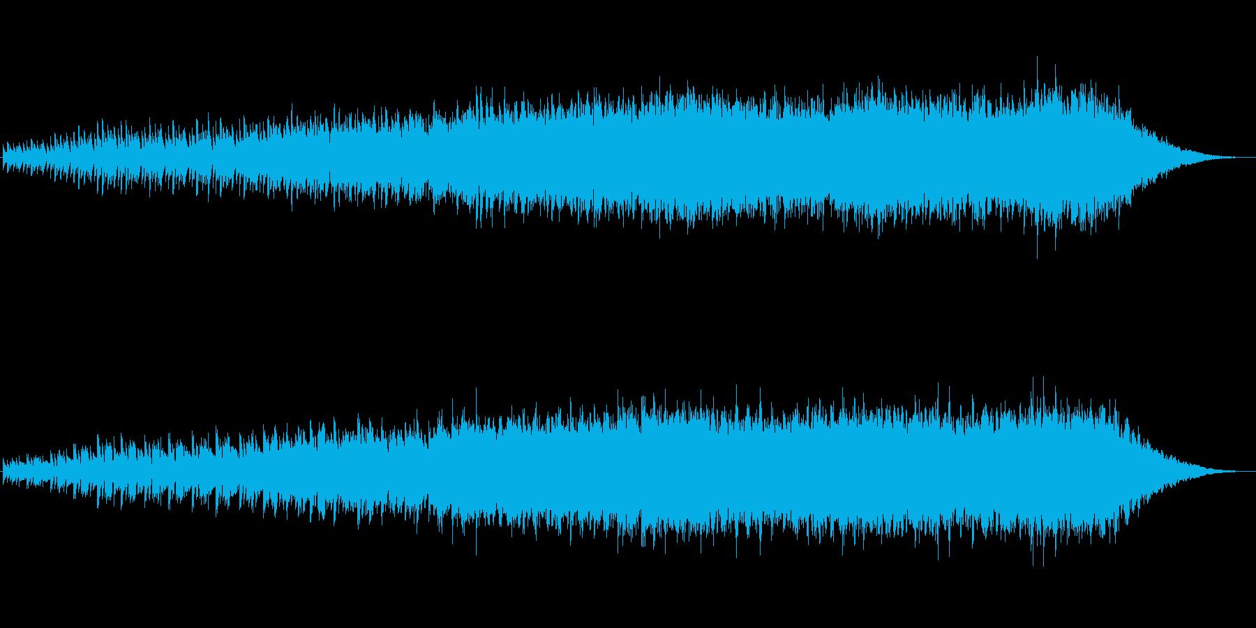 ピアノ キラキラ リラクゼーションの再生済みの波形