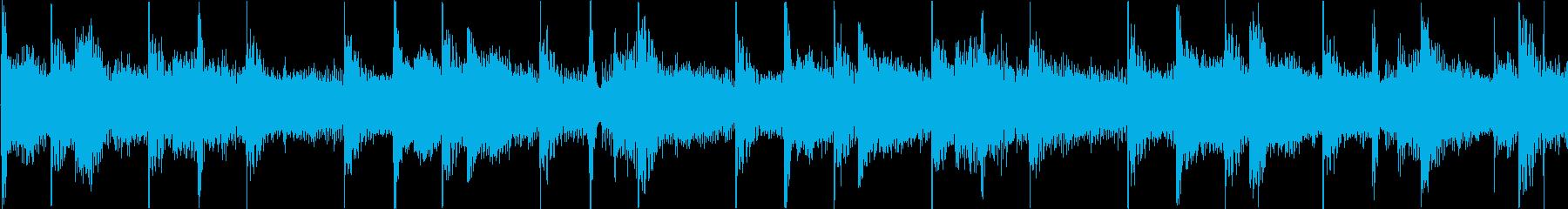 緊張感漂うアンビエント系テクノの再生済みの波形