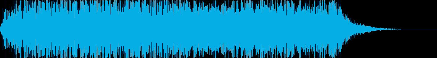 怪物・モンスターの鳴き声・ゲーム・映画bの再生済みの波形