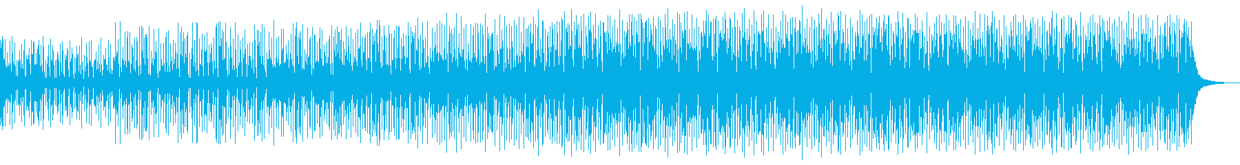 風変わりなロボットドラムループが機...の再生済みの波形