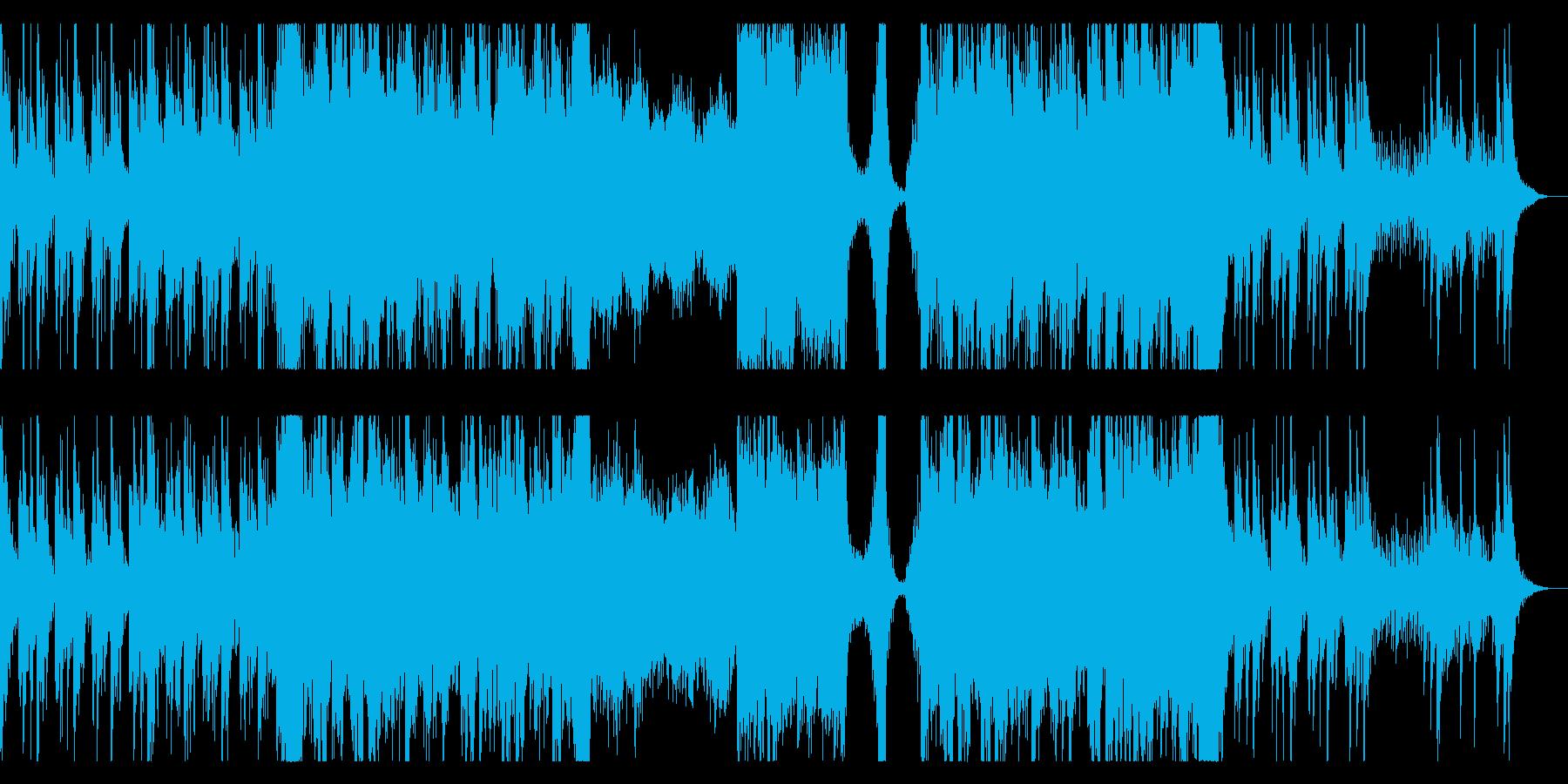 映画音楽のような壮大で力強いエピックの再生済みの波形